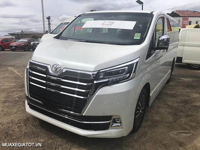 gia xe toyota granvia 2021 truecar vn Đánh giá Toyota Granvia 2021: Thiết kế, động cơ và tính năng vận hành