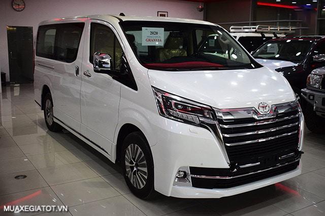 than xe toyota granvia 2021 truecar vn Đánh giá Toyota Granvia 2021: Thiết kế, động cơ và tính năng vận hành