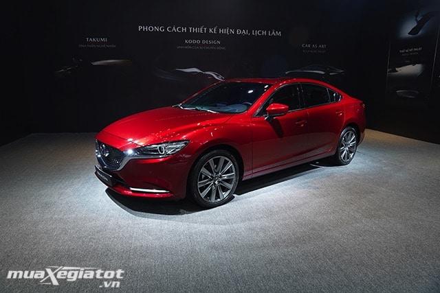 """gia xe mazda 6 2020 2021 sedan muaxegiatot vn 1 Đánh giá xe Mazda 6 2021 - Đe dọa """"ngôi vương"""" của Toyota Camry"""
