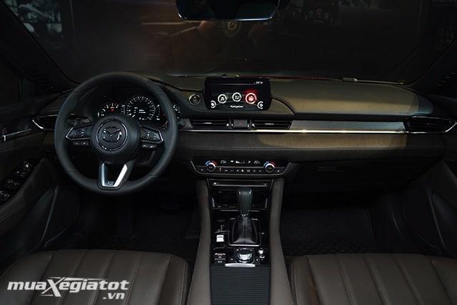 """khoang cabin xe mazda 6 2020 2021 sedan muaxegiatot vn 24 Đánh giá xe Mazda 6 2021 - Đe dọa """"ngôi vương"""" của Toyota Camry"""
