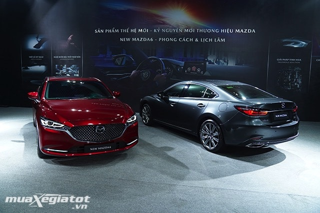 """ra mat new mazda 6 2020 2021 muaxegiatot vn Đánh giá xe Mazda 6 2021 - Đe dọa """"ngôi vương"""" của Toyota Camry"""