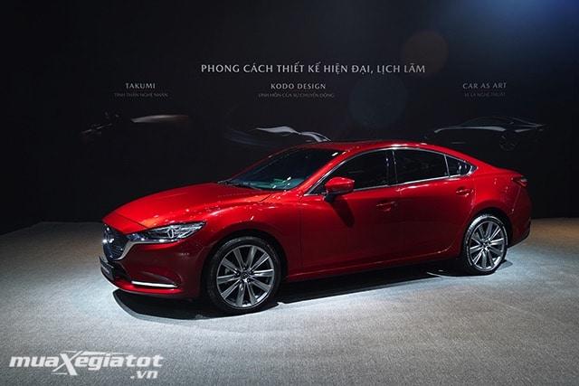 """than xe mazda 6 2020 2021 sedan muaxegiatot vn 4 Đánh giá xe Mazda 6 2021 - Đe dọa """"ngôi vương"""" của Toyota Camry"""