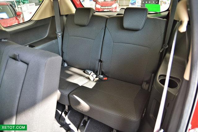 hang ghe thu 3 suzuki ertiga 2020 muaxegiatot vn Nên mua xe 7 chỗ Suzuki Ertiga hay 7 chỗ Suzuki XL7?