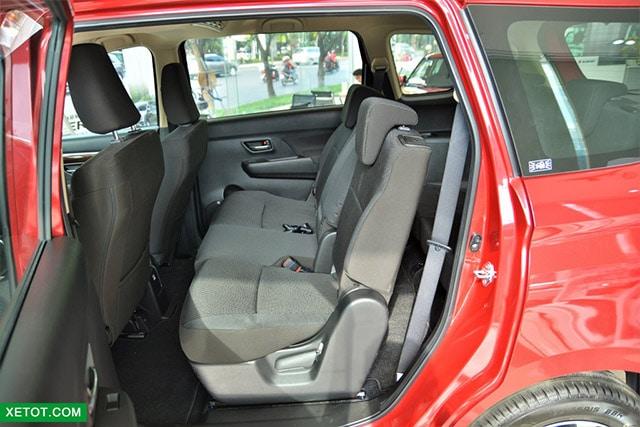 hang ghe thu hai suzuki ertiga 2020 muaxegiatot vn Nên mua xe 7 chỗ Suzuki Ertiga hay 7 chỗ Suzuki XL7?