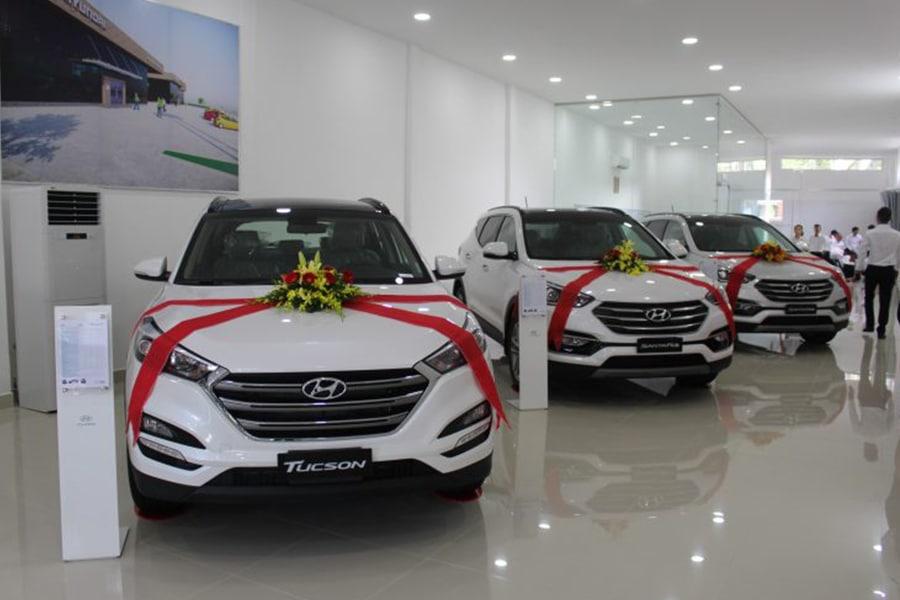 showroom hyundai long an muaxegiatot vn Giới thiệu đại lý Hyundai Long An, Tân An - Long An