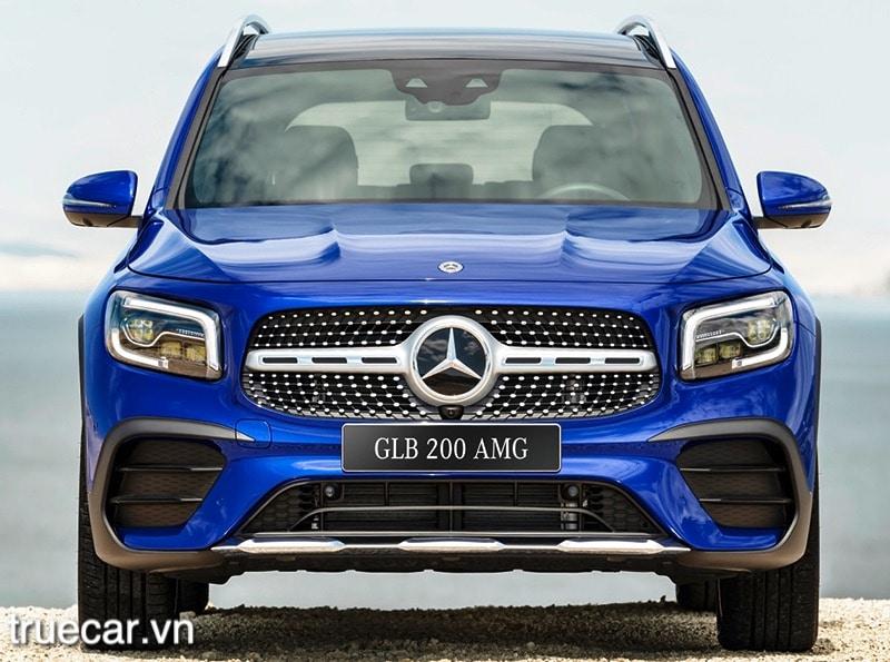 dau xe mercedes glb 200 2021 amg truecar vn Đánh giá xe Mercedes GLB 200 AMG 2021, Xe 7 chỗ hạng sang giá dưới 2 tỷ