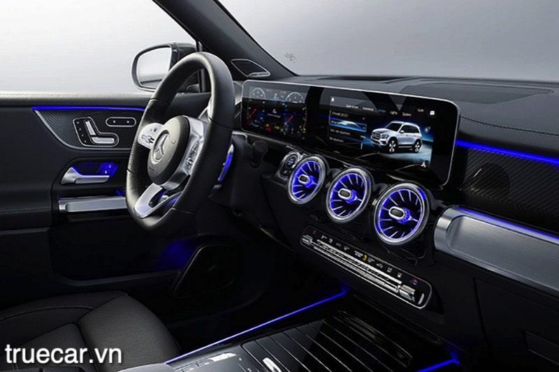 dvd xe mercedes glb 200 2021 amg truecar vn Đánh giá xe Mercedes GLB 200 AMG 2021, Xe 7 chỗ hạng sang giá dưới 2 tỷ