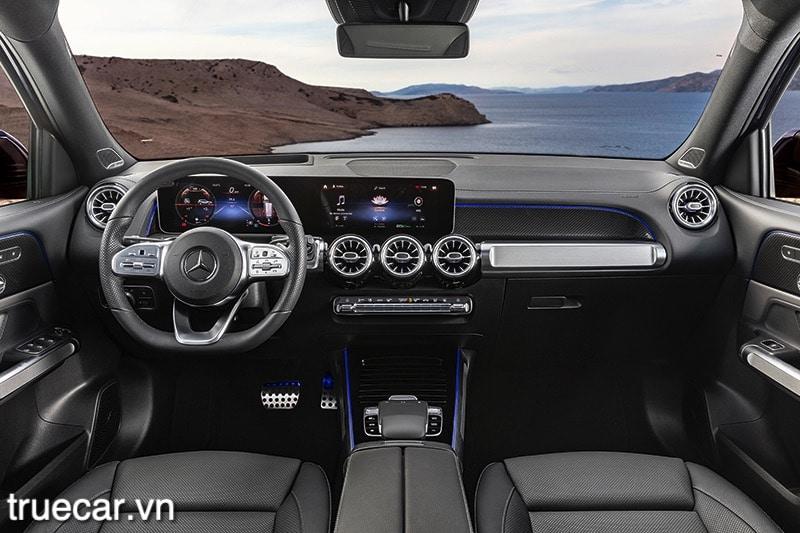 khoang lai xe mercedes glb 200 2021 amg truecar vn Đánh giá xe Mercedes GLB 200 AMG 2021, Xe 7 chỗ hạng sang giá dưới 2 tỷ