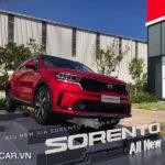 Chi tiết Kia Sorento 2021 giá từ 1,079 triệu đồng
