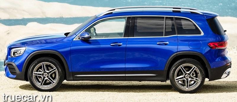 than xe mercedes glb 200 2021 amg truecar vn Đánh giá xe Mercedes GLB 200 AMG 2021, Xe 7 chỗ hạng sang giá dưới 2 tỷ