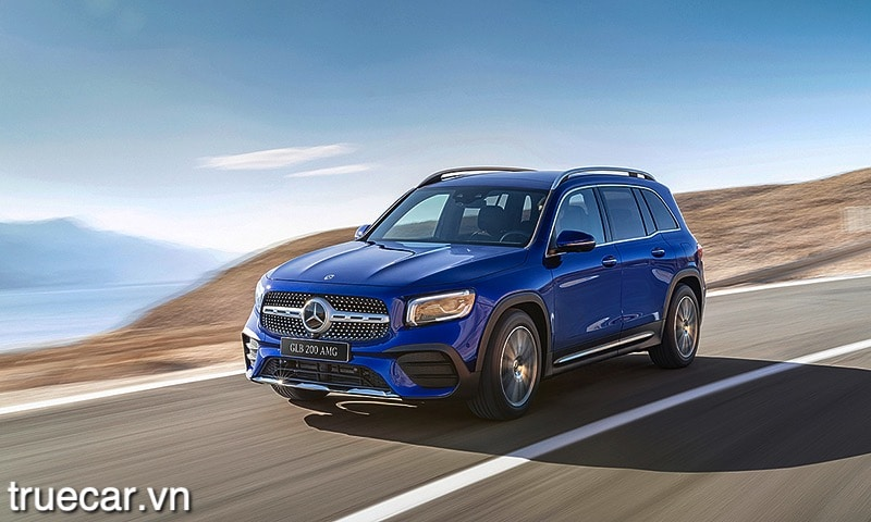 van hanh cua xe mercedes glb 200 2021 amg truecar vn Đánh giá xe Mercedes GLB 200 AMG 2021, Xe 7 chỗ hạng sang giá dưới 2 tỷ