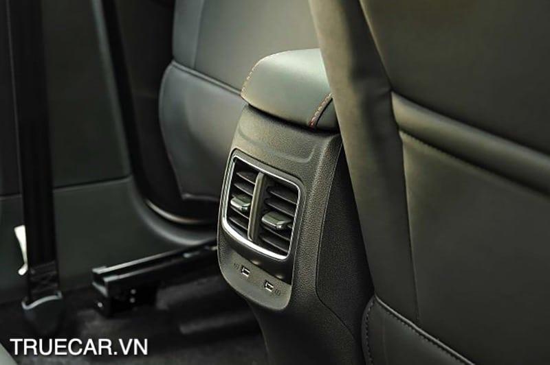 hang gio sau xe MG ZS 2021 TRUECAR VN Đánh giá xe MG ZS 2021 - Mẫu xe dành cho giới trẻ năng động