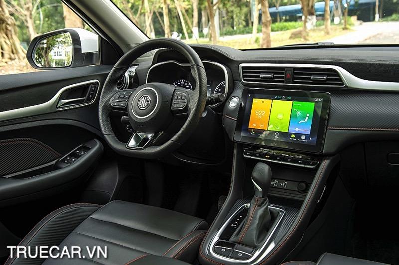 thiet ke noi that xe MG ZS 2021 TRUECAR VN Đánh giá xe MG ZS 2021 - Mẫu xe dành cho giới trẻ năng động
