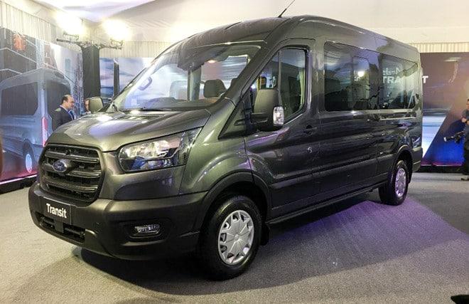 gia xe Ford Transit 2021 ra mat philiphine xetot com Đánh giá xe Ford Transit 2021 bản mới sắp ra mắt có gì nổi bật?