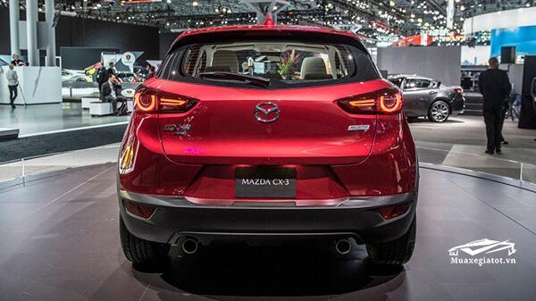 duoi xe mazda cx3 2021 truecar vn Đánh giá xe Mazda CX3 2021,SUV đô thị nên trải nghiệm