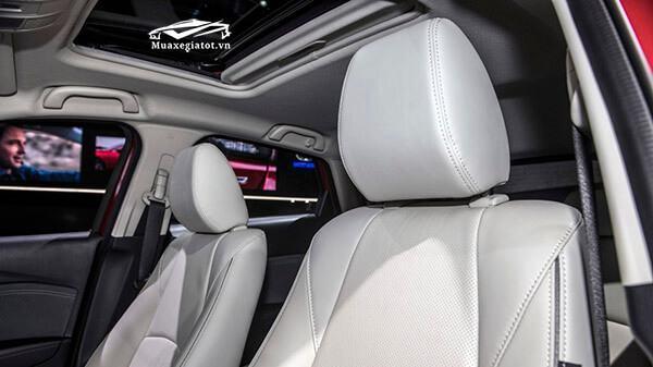 ghe da tren mazda cx3 2021 truecar vn Đánh giá xe Mazda CX3 2021,SUV đô thị nên trải nghiệm