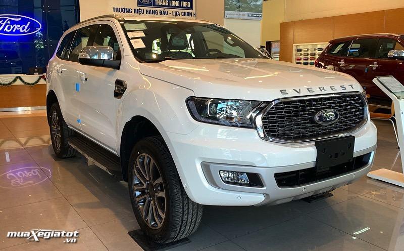 gia xe ford everest 2021 titanium 4wd at bi turbo muaxegiatot vn Giới thiệu các phiên bản Ford Everest Titanium 2021 bán tại Việt Nam
