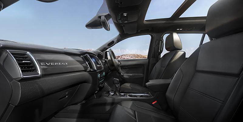 hang ghe truoc xe ford everest 2021 thailan muaxegiatot vn Giới thiệu các phiên bản Ford Everest Titanium 2021 bán tại Việt Nam