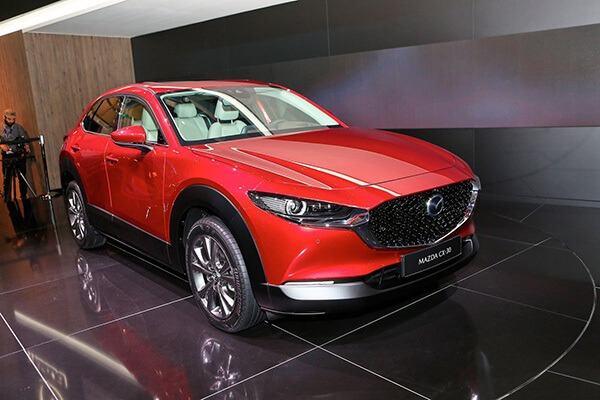 thiet ket ngoai that mazda cx 30 2021 truecar vn Đánh giá xe Mazda CX30 2021, SUV cỡ B dành cho đô thị