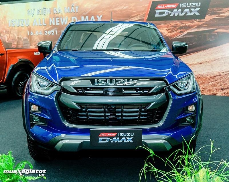 dau xe Isuzu D max 2021 2022 muaxegiatot vn Đánh giá xe Isuzu D-Max 2022: nâng cấp đáng kể, giá bán hấp dẫn