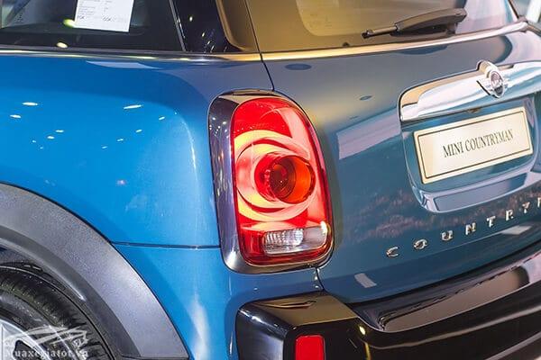 den hau xe mini countryman 2020 Xetot com 3  Đánh giá xe Mini Countryman 2021, Cá tính làm nên vẻ hấp dẫn