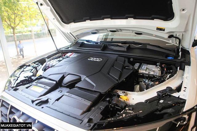 dong co audi q7 2020 2021 muaxegiatot vn Đánh giá xe Audi Q7 2022 - Nâng cấp khả năng off-road