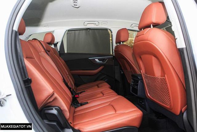 hang ghe sau audi q7 2020 2021 muaxegiatot vn Đánh giá xe Audi Q7 2022 - Nâng cấp khả năng off-road