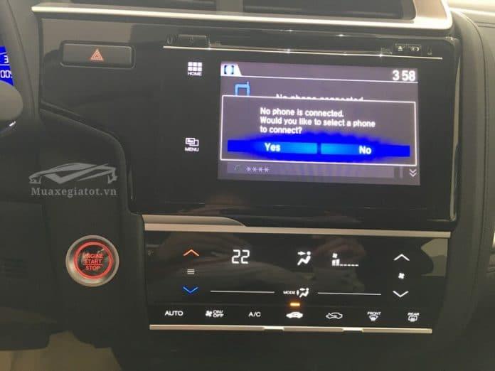 honda jazz 15cvt vx 2020 dau dvd muaxegiatot com 696x522 1 Đánh giá xe Honda Jazz 2021 - Thiết kế trẻ trung, kích thước nhỏ gọn