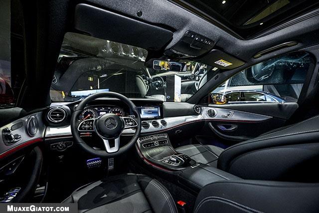 khoang noi that mercedes benz e200 sport 2020 muaxegiatot com Đánh giá xe Mercedes E200 Sport 2021 - Giá cả phải chăng