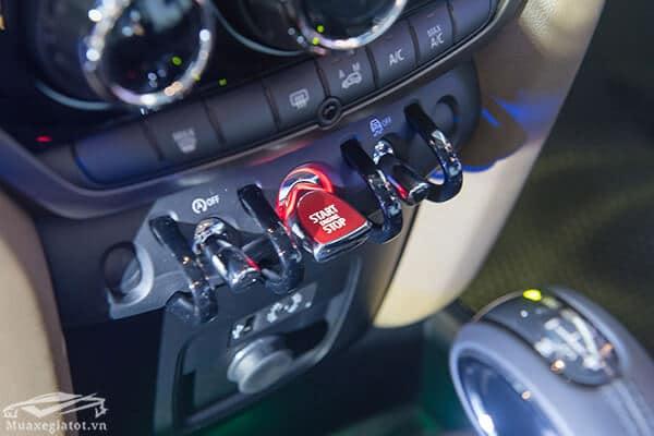 nut dieu khien xe mini countryman 2020 Xetot com 16  Đánh giá xe Mini Countryman 2021, Cá tính làm nên vẻ hấp dẫn