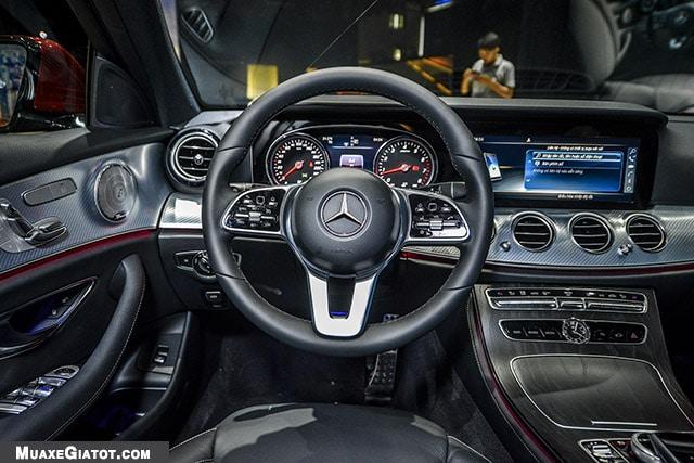 vo lang mercedes benz e200 sport 2020 muaxegiatot com Đánh giá xe Mercedes E200 Sport 2021 - Giá cả phải chăng