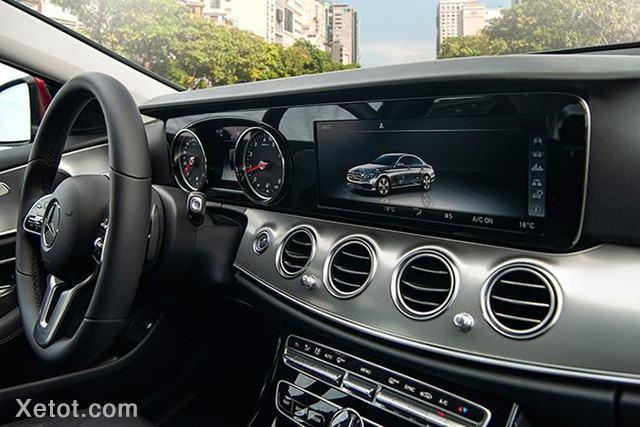 dau dvd mercedes benz e180 2020 muaxegiatot vn Đánh giá xe Mercedes E180 2021, Xe hạng sang giá bình dân