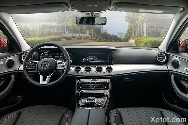 noi that xe mercedes benz e180 2020 muaxegiatot vn Đánh giá xe Mercedes E180 2021, Xe hạng sang giá bình dân