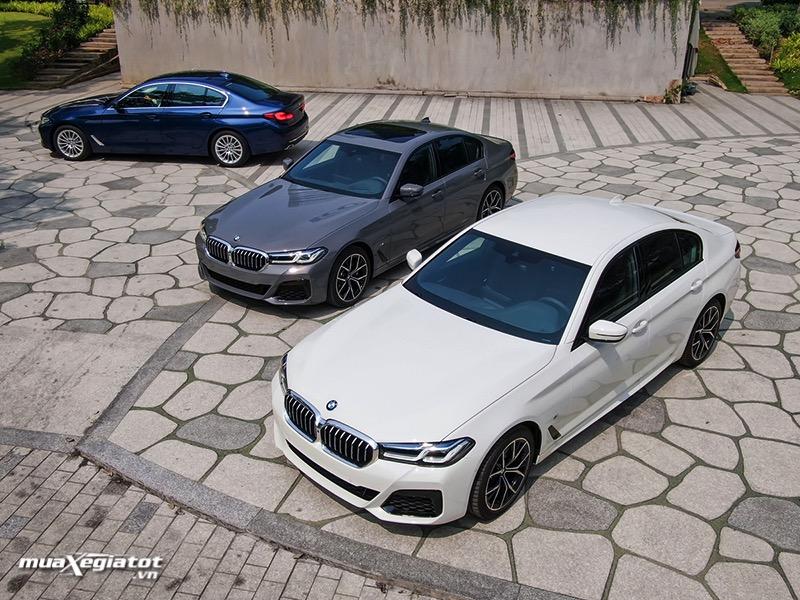 Danh gia xe BMW 5 Series 2022 giaxehoi vn Đánh giá xe BMW 5 Series 2022 LCI: Thay đổi để dẫn đầu