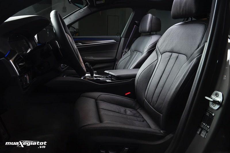Ghe xe BMW 5 Series 2022 giaxehoi vn Đánh giá xe BMW 5 Series 2022 LCI: Thay đổi để dẫn đầu