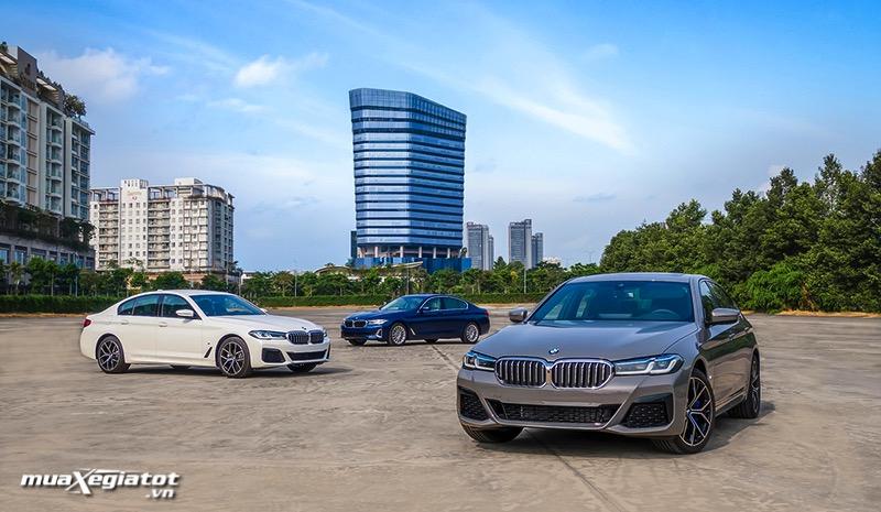 Gia xe BMW 5 Series 2022 giaxehoi vn Đánh giá xe BMW 5 Series 2022 LCI: Thay đổi để dẫn đầu