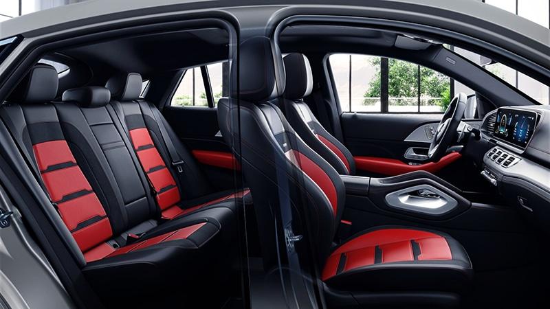 """Khoang noi that Mercedes AMG GLE 53 Coupe 2022 giaxehoi vn Đánh giá Mercedes-AMG GLE 53 Coupe 2022 – Chiếc SUV hạng sang """"đáng đồng tiền bát gạo"""""""
