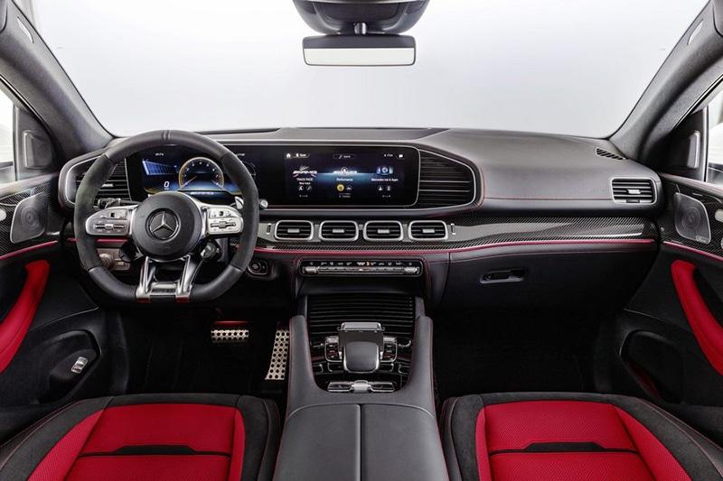 """Noi that xe Mercedes AMG GLE 53 Coupe 2022 giaxehoi vn Đánh giá Mercedes-AMG GLE 53 Coupe 2022 – Chiếc SUV hạng sang """"đáng đồng tiền bát gạo"""""""