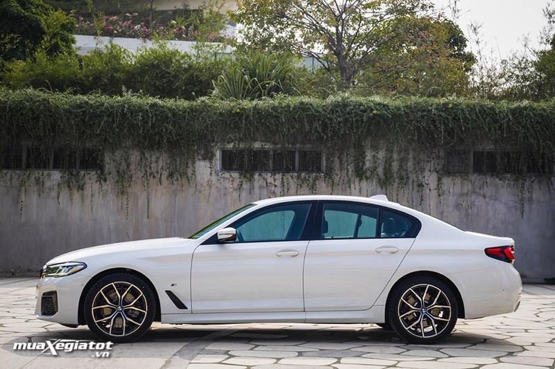 Than xe BMW 5 Series 2022 giaxehoi vn Đánh giá xe BMW 5 Series 2022 LCI: Thay đổi để dẫn đầu