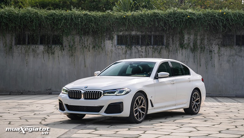 Thiet ke ngoai that BMW 5 Series 2022 giaxehoi vn Đánh giá xe BMW 5 Series 2022 LCI: Thay đổi để dẫn đầu