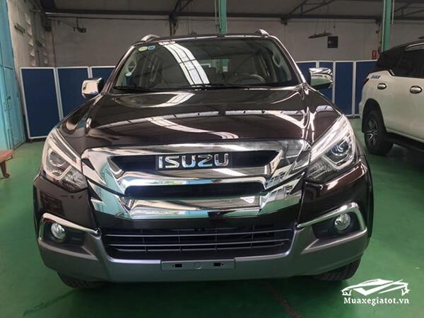 dau xe isuzu mux 2021 2022 xetot com 1 Đánh giá xe Isuzu MU-X 2021 đang bán tại Việt Nam: Mạnh mẽ hơn, thể thao hơn