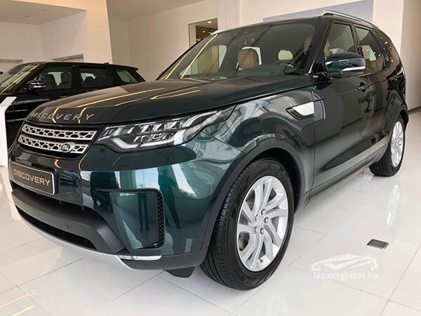 dau xe land rover discovery 2019 muaxegiatot vn 2 Đánh giá Land Rover Discovery 2021 - Mẫu SUV cao cấp 7 chỗ lừng danh tới từ Anh Quốc