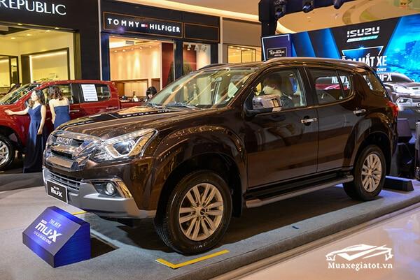 hong xe isuzu mux 2021 2022 xetot com 9 Đánh giá xe Isuzu MU-X 2021 đang bán tại Việt Nam: Mạnh mẽ hơn, thể thao hơn