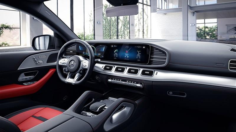 """khoang lai Mercedes AMG GLE 53 Coupe 2022 giaxehoi vn Đánh giá Mercedes-AMG GLE 53 Coupe 2022 – Chiếc SUV hạng sang """"đáng đồng tiền bát gạo"""""""