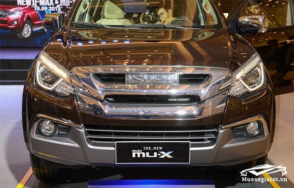 luoi tan nhiet isuzu mux 2021 2022 xetot com 8 Đánh giá xe Isuzu MU-X 2021 đang bán tại Việt Nam: Mạnh mẽ hơn, thể thao hơn