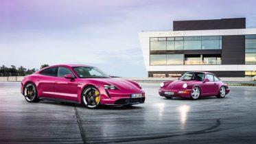 """Xe Porsche Taycan 2022 Muaxegiatot vn 373x210 Đánh giá xe Porsche Taycan 2022: """"hoa mắt"""" với 63 màu sơn, tự động đỗ xe không cần ngồi ghế lái"""