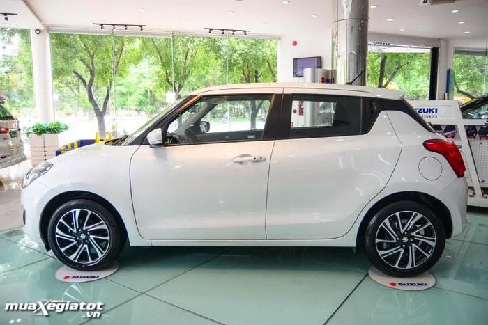 hong xe suzuki swift 2022 glx muaxegiatot vn Suzuki Swift 2022 bản nâng cấp: Có gì để cạnh tranh với những đối thủ khác